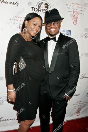 Ne-Yo and girlfriend Monyetta Shaw