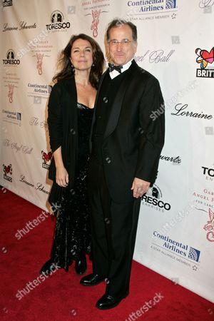 Krista Justice and Mark Linn Baker