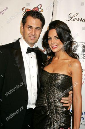 Daniella Rich Kilstock (right) and husband (left)