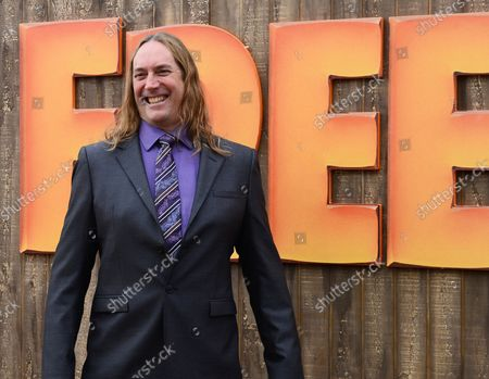"""Cast member Danny Carey the voice of Danny in the animated motion picture comedy """"Free Birds"""" attends the premiere of the film at the Westwood Village Theatre in Los Angeles on October 13, 2013. In the film, two turkeys from opposite sides of the tracks must put aside their differences and team up to travel back in time to change the course of history - and get turkey off the holiday menu for good."""