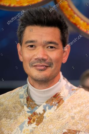Stock Photo of Director Destin Daniel Cretton, poses for photographs on the red carpet for the premiere of Shang-Chi and the Legend of the Ten Rings, the first Marvel film to feature an Asian superhero as the lead character, at a cinema in west London