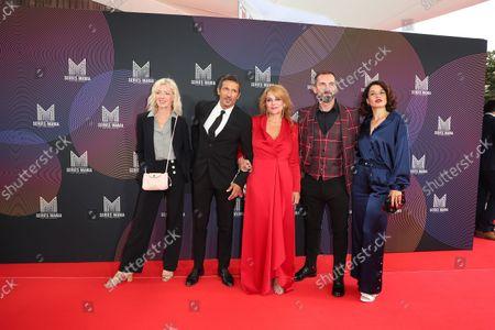 Luce Mouchel, Ariane Seguillon, Kamel Belghazi, Franck Monsigny, Honorine Magnier
