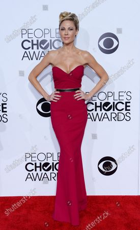 Actress Olga Fonda attends The 40th Annual People's Choice Awards at Nokia Theatre in Los Angeles on January 8, 2014.