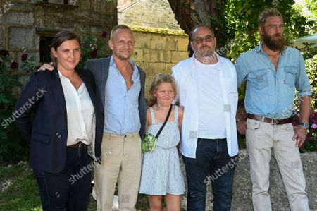 Stock Photo of Marie-Julie Maille, Jeremie Renier, Madeleine Beauvois, Xavier Beauvois and Geoffroy Sery