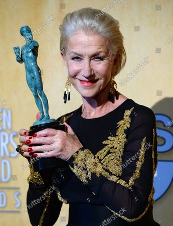 Editorial picture of SAG Awards, Los Angeles, California, United States - 18 Jan 2014
