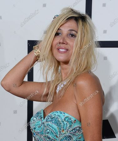 Singer/songwriter Nadeea arrives for the 56th annual Grammy Awards at Staples Center in Los Angeles on January 26, 2014.