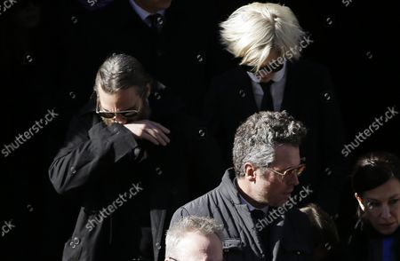 Editorial photo of Hoffman Funeral, New York, United States - 07 Feb 2014