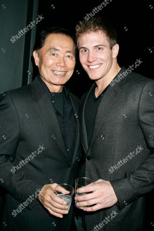Stock Photo of George Takei and Scott Herman