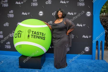Editorial image of 21st Annual Citi Taste of Tennis, New York, USA - 26 Aug 2021