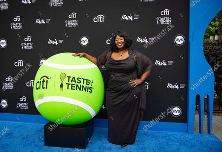 Natasha Yvette Williams attends 21st Annual Citi Taste of Tennis, New York City