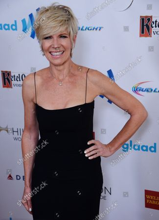 Singer Debby Boone attends the 25th annual GLAAD Media Awards at the Beverly Hilton Hotel in Beverly Hills, California on April 12, 2014. The GLAAD Media Awards bring celebrities, corporate partners, media professionals, and young adults together in support of GLAADÕs mission to amplify the voice of the LGBT community and achieve full equality.