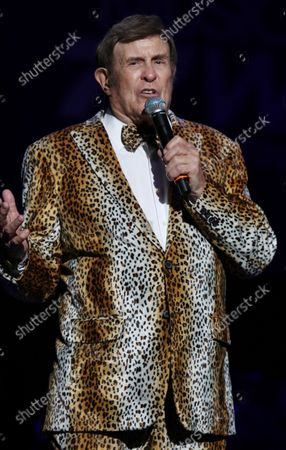 Bruce Morrow at Cousin' Brucie's Palisades Park reunion at PNC Bank Arts Center. August 26, 2021.