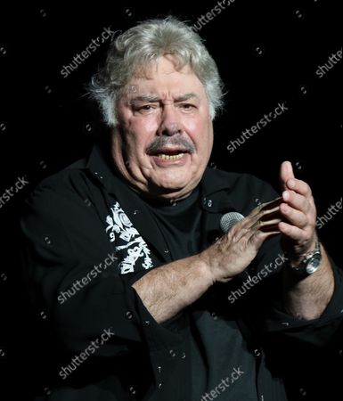 Stock Picture of Tony Orlando performing at Cousin' Brucie's Palisades Park reunion at PNC Bank Arts Center. August 26, 2021.