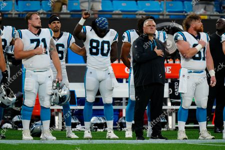 Editorial image of Steelers Panthers Football, Charlotte, United States - 27 Aug 2021
