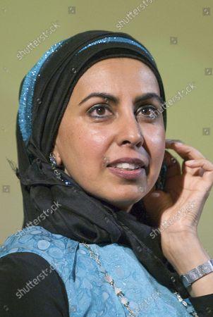 Editorial photo of Zarqa Nawaz, Anita Majumdar, Vancouver, British Columbia, Canada - 10 Jul 2014