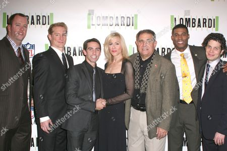 Chris Sullivan, Keith Nobbs, Judith Light, Dan Lauria, Robert Christopher Riley and Thomas Kail