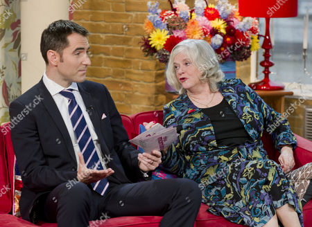 Michael Booker and Ann Widdecombe