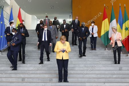Editorial image of G20 Compact with Africa meeting in Berlin, Germany - 27 Aug 2021
