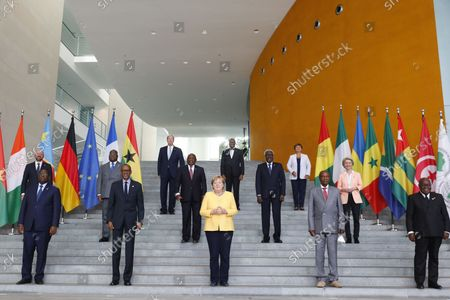 Editorial picture of G20 Compact with Africa meeting in Berlin, Germany - 27 Aug 2021