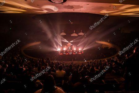 "Rise Against ""Nowhere Generation"" tour - Zach Blair, Tim McIlrath, Brandon Barnes, Joe Principe"
