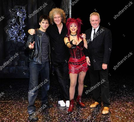 Editorial photo of 'We Will Rock You' musical theatre premiere, Berlin, Germany - 21 Oct 2010