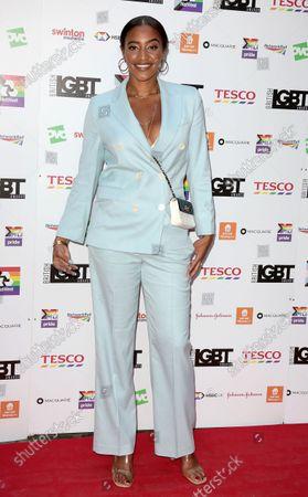 Editorial image of British LGBT Awards, London, UK - 27 Aug 2021