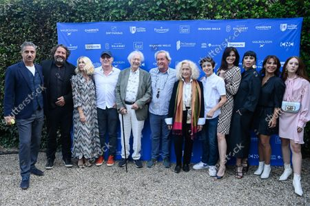 Editorial image of 'The Way to Happiness' photocall, Angouleme Francophone Film Festival, Angouleme, France - 27 Aug 2021