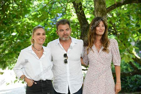 Clovis Cornillac, Alice Pol and Lilou Fogli