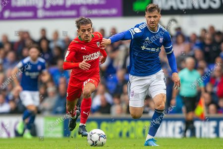 Editorial picture of Ipswich Town v AFC Wimbledon, EFL Sky Bet League 1 - 28 Aug 2021