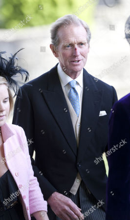Stock Picture of Richard Meade, father of the groom.