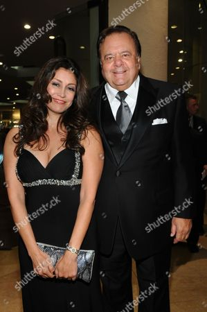 Stock Image of Paul Sorvino and Hedi Khorsand