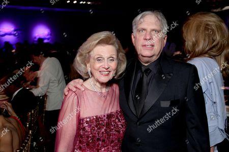 Stock Image of Barbara Davis and Jonathan Dolgen