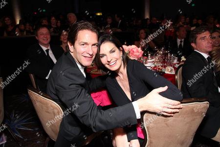 Howard Sherman and Sela Ward