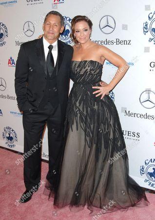 Leah Remini and husband Angelo Pagan