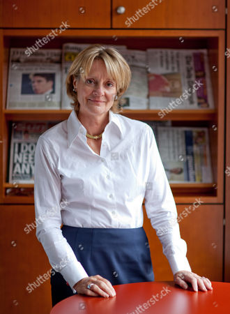 Editorial picture of Peta Buscombe, chair of the Press Complaints Commission, in her office in London, Britain - 07 Sep 2010