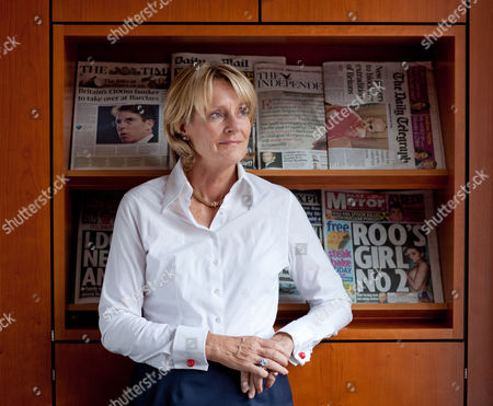 Editorial image of Peta Buscombe, chair of the Press Complaints Commission, in her office in London, Britain - 07 Sep 2010