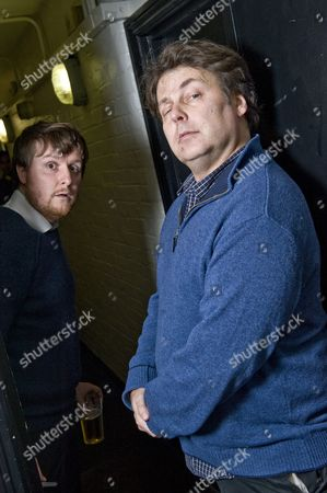 Tim Key and Rich Fulcher
