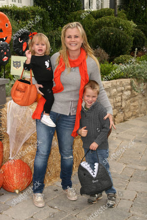 Alison Sweeney with daughter Megan Sanov and son Benjamin Sanov