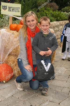 Alison Sweeney with son Benjamin Sanov