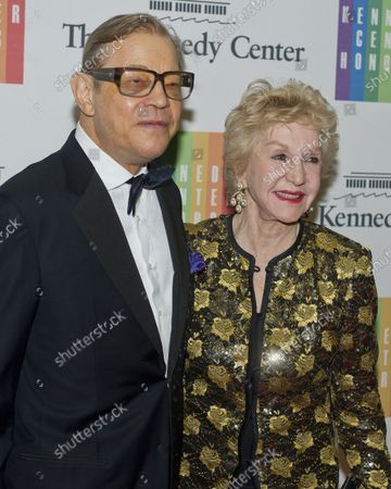 Michael York and his wife, Pat, arrive for the formal Artist's Dinner honoring the recipients of the 2014 Kennedy Center Honors hosted by United States Secretary of State John F. Kerry at the U.S. Department of State in Washington, D.C. on Saturday, December 6, 2014.  The 2014 honorees are: singer Al Green, actor and filmmaker Tom Hanks, ballerina Patricia McBride, singer-songwriter Sting, and comedienne Lily Tomlin.
