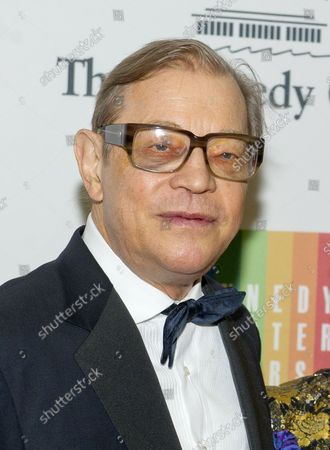 Michael York arrives for the formal Artist's Dinner honoring the recipients of the 2014 Kennedy Center Honors hosted by United States Secretary of State John F. Kerry at the U.S. Department of State in Washington, D.C. on Saturday, December 6, 2014.  The 2014 honorees are: singer Al Green, actor and filmmaker Tom Hanks, ballerina Patricia McBride, singer-songwriter Sting, and comedienne Lily Tomlin.