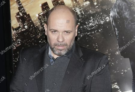 Olivier Megaton arrives on the red carpet at the 'Taken 3' Fan Event Screening at AMC Empire 25 Theater in New York City on January 7, 2015.