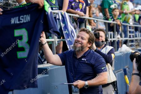 Editorial photo of Chargers Seahawks Football, Seattle, United States - 28 Aug 2021