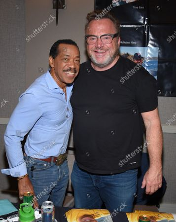Obba Babatunde and Tom Arnold