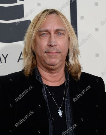 Stock Picture of Musician Paul Nelson arrives for the 57th Grammy Awards at Staples Center in Los Angeles on February 8, 2015.