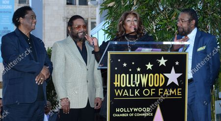 Editorial image of Holland Dozier Holland Fame Ceremony, Los Angeles, California, United States - 13 Feb 2015