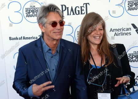 Actor Eric Roberts, left, and Eliza Roberts attend the 30th annual Film Independent Spirit Awards in Santa Monica, California on February 21, 2015.