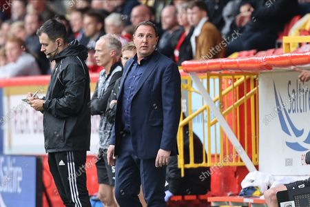 Ross County's  Manager Malky Mackay during the Cinch Scottish Premiership match between Aberdeen and Ross County at Pittodrie Stadium, Aberdeen