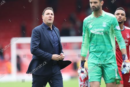 Stock Picture of Ross County's  Manager Malky Mackay during the Cinch Scottish Premiership match between Aberdeen and Ross County at Pittodrie Stadium, Aberdeen