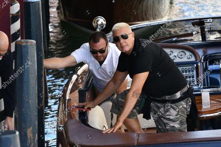 Dolce & Gabbana event, Stefano Gabbana arrives at the Hotel